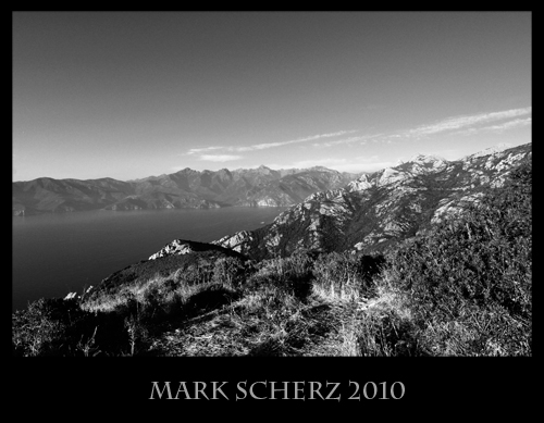 Corsica in Black and White 1