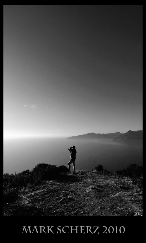 Shooting Corsica in Black and White